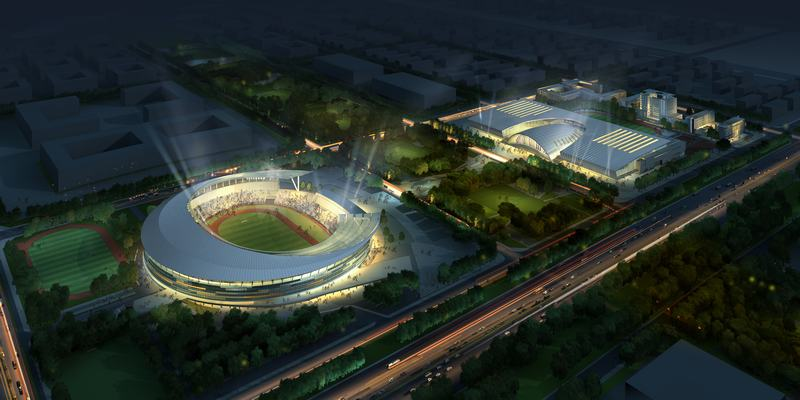 12河北奥林匹克体育中心体育馆综合体钢结构工程.jpg